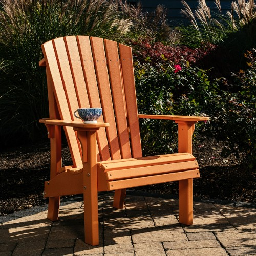 Luxcraft Poly Royal Adirondack Chair